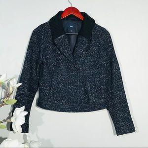 Gap wool blend Tweed jacket